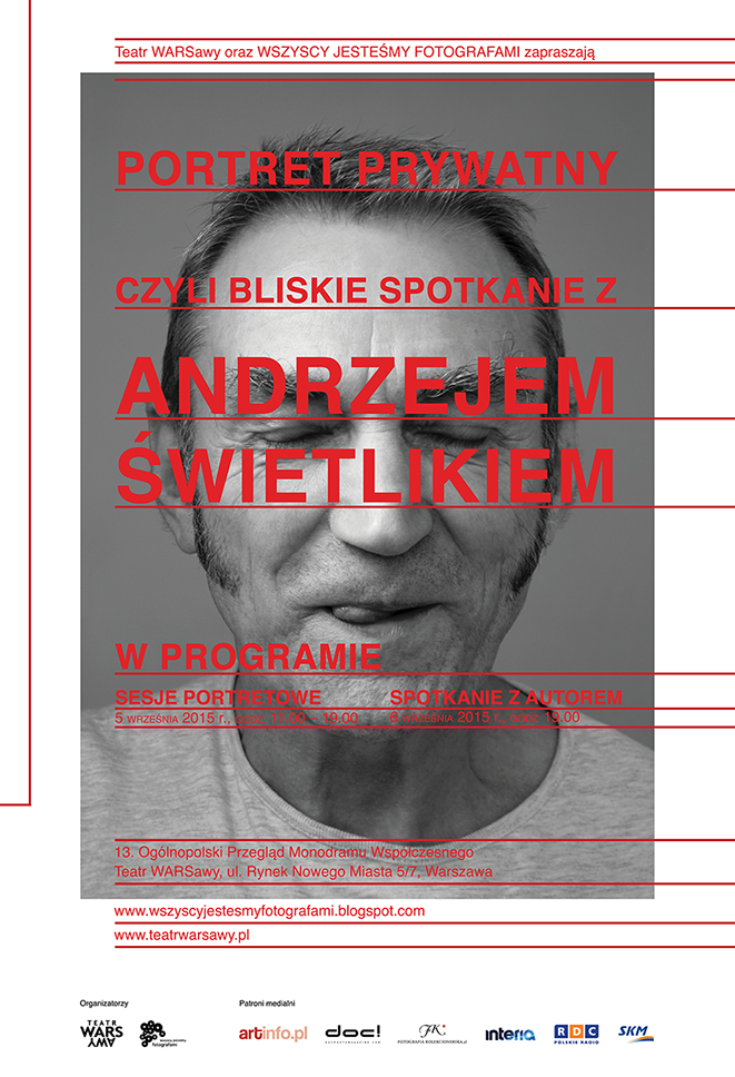 Portret prywatny plakat